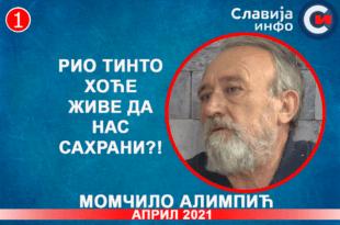 ИНТЕРВЈУ: Момчило Алимпић - Рио тинто хоће живе да нас сахрани?! (видео)
