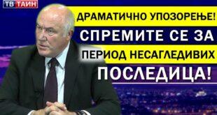 """Генерал Стојановић: """"Вучић је гурнуо Србију у потпуно лудило, њега функција надалеко превазилази""""! (видео)"""
