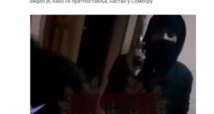 Наоружани мигранти у Сомбору псују и прете Србији! (видео)