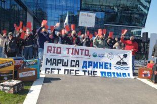 НАРОД поручио Рио Тинту: Проћи ћете на Јадру као Аустријанци 1914! Марш са Дрине! (видео)