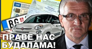 Јован Радовановић: Технички преглед је организовани криминал, сви се уграђују, ево доказа! (видео)