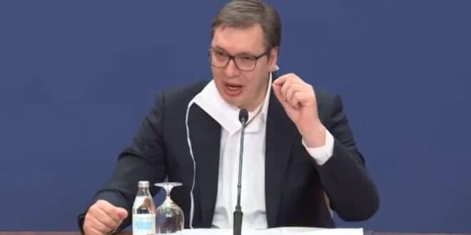 ВУЧИЋ: Узећемо паре од невакцинисаних и даћемо по 3.000 динара вакцинисанима!