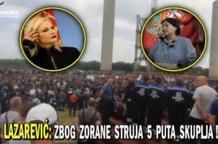 ШТРАЈК У ЕПС-у: Због Зоране Михајловић Србија остаје без струје за 10 дана! (видео)