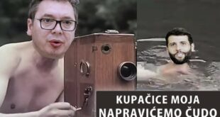 Вучић и Шапић - Kупачице моја направићемо чудо (видео)