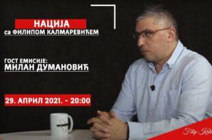 Милан Думановић: Србија је огрезла у криминалу (видео)