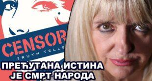 Весна Пешић: Терају нас да верујемо у лаж да би мрзели сами себе! (видео)