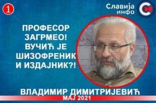 ИНТЕРВЈУ: Владимир Димитријевић - Вучић је шизофреник и издајник?! (видео)
