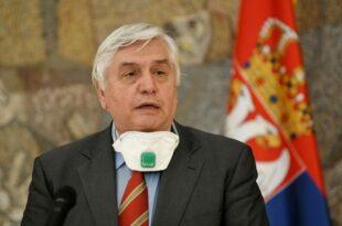 Тиодоровић: Последњи је час да се заоштри контрола мера против короне