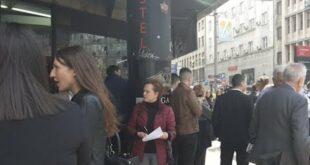 УЖИВО Адвокати блокирали центар Београда колапс у саобраћају (видео)