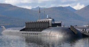 """Руси поринули подморницу """"Белгород"""" која носи оружје судњег дана и у стању је да уништи континент (видео)"""