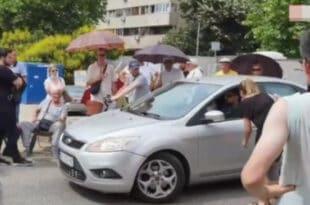 БЕОГРАЂАНИ блокирали улаз на градилиште у блоку 37, народ сит Весићевих лажи (видео)