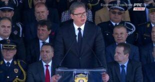 Док експлодирају фабрике наменске по Србији, режим слави дан полиције?! (видео, фото)