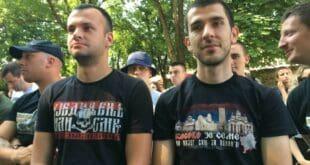 ИЗДАЈНИЧКА ФУКАРО свих фела, ево ти одговора српске младости из Грачанице на твоју издају! (фото галерија)
