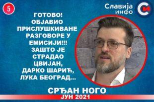 ИНТЕРВЈУ: Срђан Ного - Готово! Објавио прислушкиване разговоре! (видео)