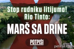 Преко 100.000 људи потписало петицију против рудника Рио Тинта
