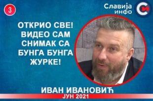 ИНТЕРВЈУ: Иван Ивановић - Открио све! Видео сам снимак са Бунга бунга журке! (видео)