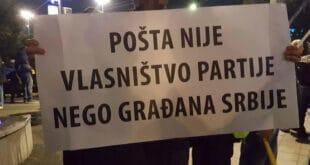 Радницима Поште претили отказима ако оду на протест…