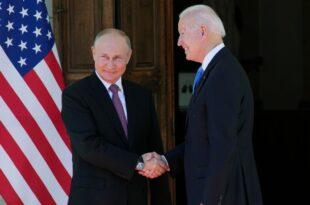 Састанак Владимира Путина и Џозефа Бајдена у Женеви (видео)
