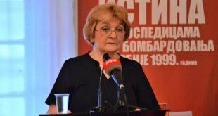 Даница Грујичић: Државни орган за утврђивање последица НАТО бомбардовања - није заживео