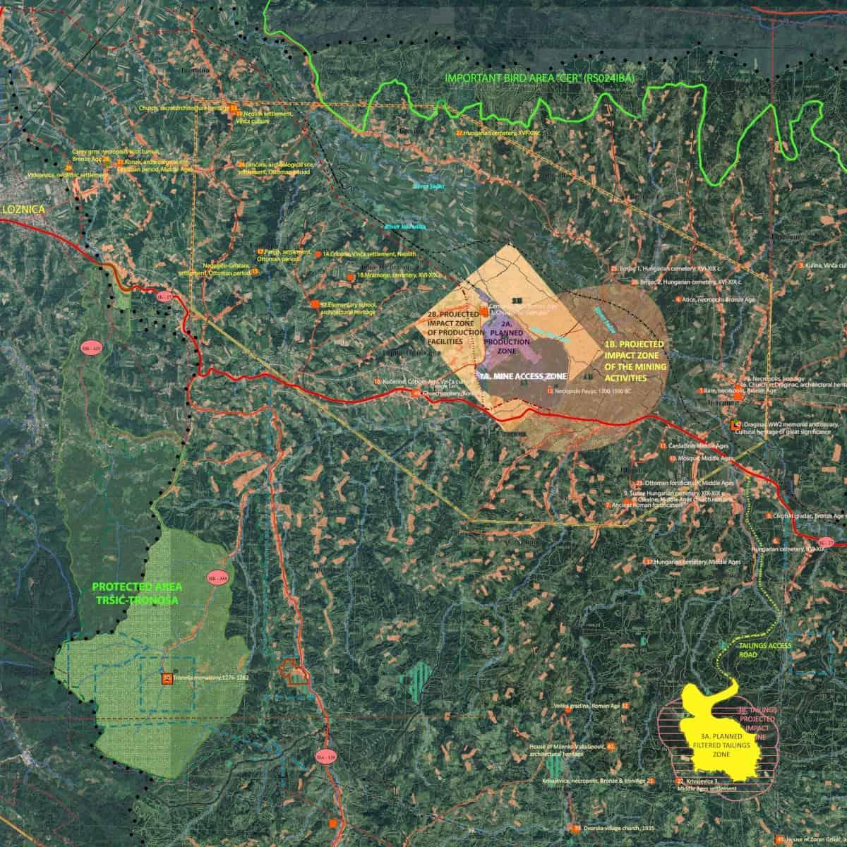 Рио Тинто разматра могућност изградње постројења са већим капацитетима за ископавање и прераду литијума него што је сада планирано