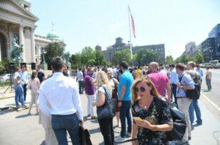 Адвокати широм Србије ступили су данас у једнодневну обуставу рада (видео)