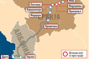 Ана Брнабић: До краја септембра крећемо у изградњу ауто-пута Велике Албаније, од Ниша до Драча