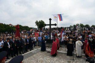 У Братунцу служен парастос за 3.267 Срба из средњег Подриња које су убиле муслиманске снаге