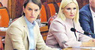 КРИМИНАЛ: Ана Брнабић и Зорана Михајловић опљачкали државу за 70 милиона евра!