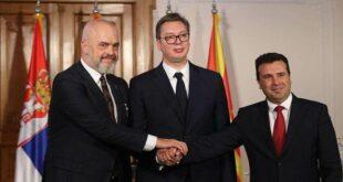 Вучић најавио укидање граничних контрола између Србије, Северне Македоније и Албаније за две године