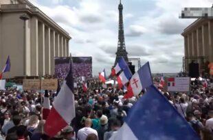 Читава Европа је прокључала! Милиони на улицама против вакцине, медији не могу да сакрију (видео)