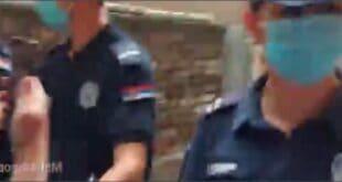 СНС ИЗВРШИТЕЉИ уз помоћ полиције исељавају породицу која је платила дуг! (видео)