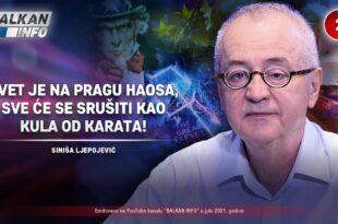 Синиша Љепојевић - Свет је на прагу хаоса, срушиће се као кула од карата! (видео)