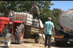 Ваљевска села без воде поред воде (видео)
