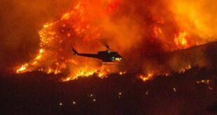 """Апокалиптичне сцене из Атине, пламен """"гута"""" све пред собом, пола Грчке је у пламену (видео)"""