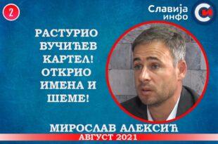 ИНТЕРВЈУ: Мирослав Алексић - Растурио Вучићев картел! Открио имена и шеме! (видео)