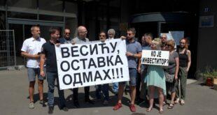 Шести протест на Врачару: Сумњамо да је зграда у Видовданској намерно срушена