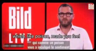"""Главни уредник немачког """"Билда"""" се извињава због утеривања страха током пандемије (видео)"""
