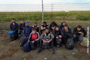Полиција: Мигранти гађали граничаре каменицама на мађарско-српској граници