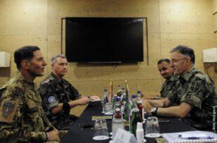 Мојсиловић и командант КФОР-а о безбедносној ситуацији на Косову и Метохији