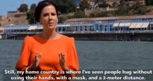 Вучићева жена у дебилном споту: У Србији се грле без руку и са маском! (видео)