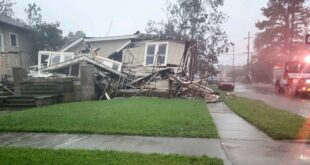 Ураган четврте категорије погодио обале америчке државе Луизијане (видео)