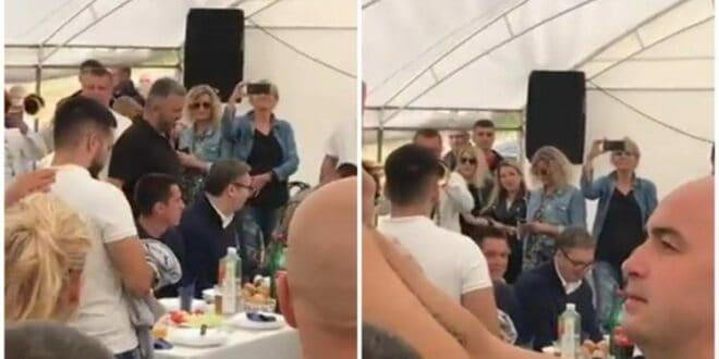 Док вама прете закључавањима вођа и екипа на челу са дворском лудом Дачићем роксује по Косјерићу (видео)