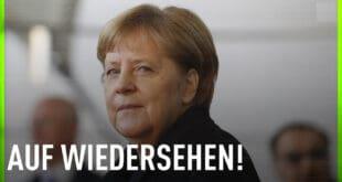 """Меркел на опроштајној журци испраћена звуждуцима и речима """"Мир, слобода, не диктатури!"""" (видео)"""