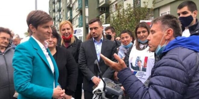 Ана Брнабић: Вучић и СНС су вратили достојанство Србији и Србима на Косову