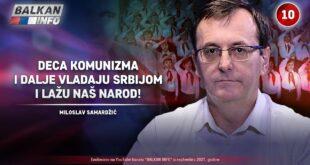 ИНТЕРВЈУ: Милослав Самарџић - Деца комунизма и даље владају Србијом и лажу наш народ! (видео)