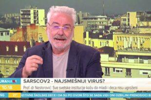 Проф. др Несторовић уживо у емисији разбио режимског климоглавца у вези вакцинације (видео)