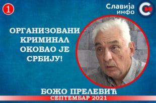 ИНТЕРВЈУ: Божо Прелевић - Организовани криминал оковао је Србију! (видео)