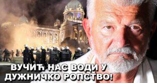 Милан Пашански: Србија клизи у унутрашњи грађански оружани сукоб! (видео)