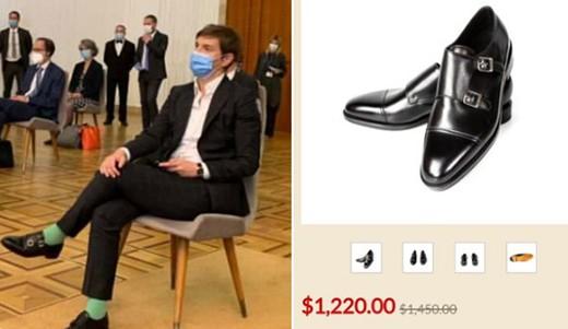 Ана Брнабић носи ципеле од 1.200 евра ал неда раднички минималац преко 35.000 динара!
