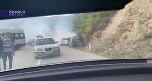 Шиптарски терористи бацили сузавац на Србе код Брњака, шаљу појачања из Приштине (видео)